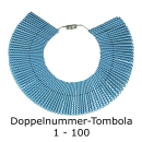Doppelnummern Tombola 1-100 am Ring
